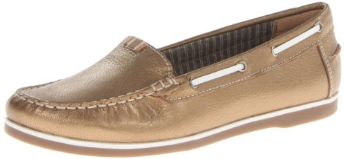 Hanover Boat Shoe,Gold,10.5