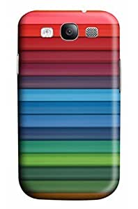 Cool Designed Designs The water of the window Design Protective Back Case Cover for Samsung s3