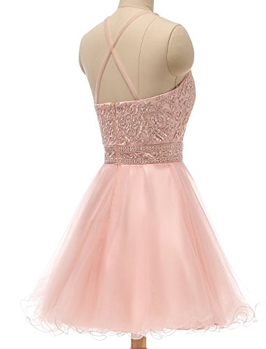 Dress Prom 2018 Party Henglizh Bridesmaid Dress Crystal Wedding Lace Burgundy3 Short RFwqnH6