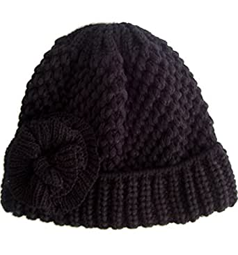 Frost Hats Winter Hat for Women BLACK Girl Teen's Winter