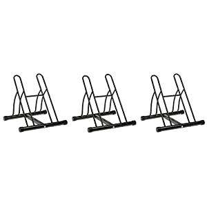 Racor PBS-2R Two-Bike Floor Bike Stand (Pack of 3)