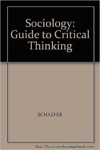 critical thinking sociology