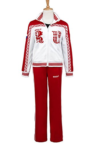 Charlie Supernatural Costume - Costhat Unisex Sportswear Outfit Nikiforov Jacket Pants Cosplay Costume