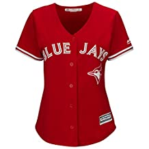 Women's Toronto Blue Jays Majestic Scarlet 2017 Cool Base Replica Team Jersey
