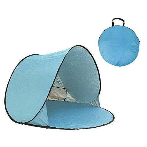 Malilove Zelt Ultralight Klappzelt Pop Up Automatische Geöffnetes Zelt Familie Touristischen Fisch Camping Angeln Anti-UV Voll Sun Shade Zelt