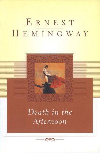"""Death in the Afternoon"" av Ernest Hemingway"