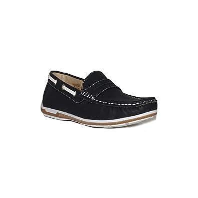 PEZZANO PEZZANO Mocasin R02 Zapatos Mocasines Hombre Marrón Casuales Modernos: Amazon.es: Zapatos y complementos