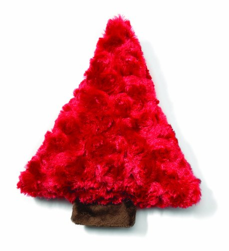 West Paw Design Piney Holiday Squeak Toy for Dogs, Red