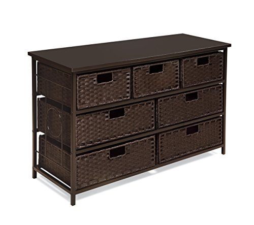 storage table with baskets - 9
