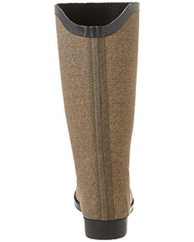 BEARPAW Womens Myrtle Rubber Rain Boot Chocolate EdPQQOBFZ