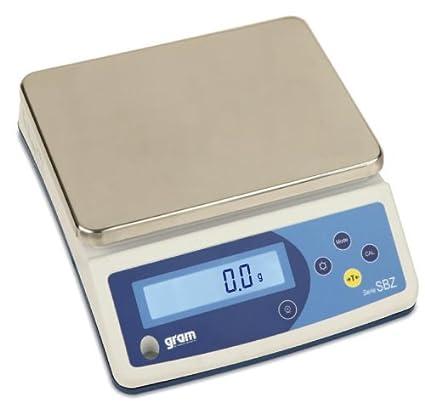 Báscula de encimera con función de contar 10 kg/1g