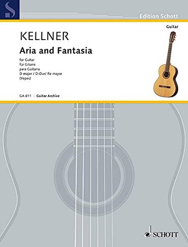 Aria & Fantasia d Git. Guitare: Amazon.es: David Kellner: Libros ...