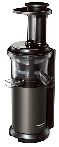 Panasonic Slow Juicer VITAMIN SERVER MJ-L600-H (Graphite Gray)【Japan Domestic genuine products】【Ships from JAPAN】