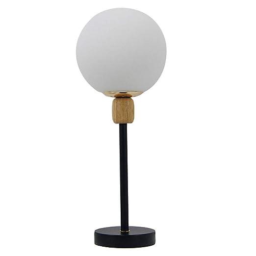 YC electronics Lámparas de Escritorio Moderna Moda Simple Bola de ...