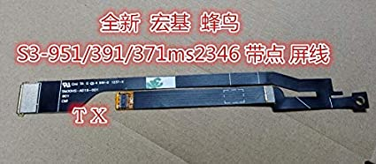 Cable Length: Other ShineBear New LCD Screen Video Cable for Acer S3-951 2464G Ms2346 50.13B23.001 B133XW03 S3-951-2464G Laptop Cable P//N SM30HS-A016-001