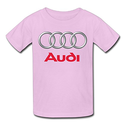 Price comparison product image Audi Logo Youth's T-Shirt Pink