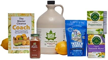 Amazon Com Maple Valley 16 Day Organic Master Cleanse Lemonade