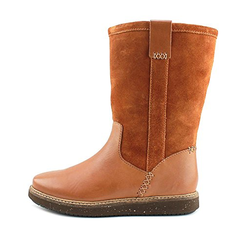 Closed Grain Combination Fur Faux Tan Womens Leather Boots Cow Toe Fashion Mid Suede Calf Clarks Full Glick Elmfield nxqXgHB