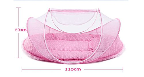 Image result for Baby Travel Bed Crib Mosquito Ded Portable Baby Bed Folding Baby Mosquito Net Portable Baby Cots for 0-18 Month Baby (Blue) Sinotop