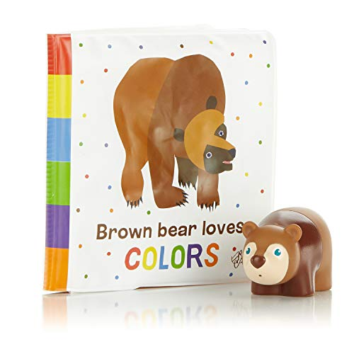 World of Eric Carle, The Very Hungry Caterpillar Bath Set - Brown Bear Book & Squirty