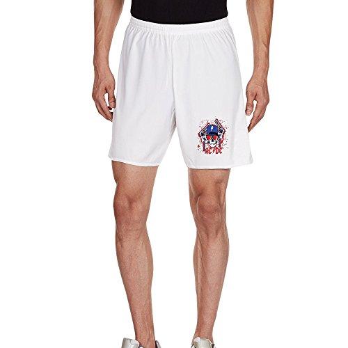 BestSeller Men's AC/DC Logo Casual Home Wear Shorts (Assorted (Hard Rock Dc Halloween)