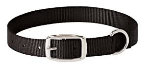 Weaver Leather Prism Choice Collar, 1 x 17-Inch, Black