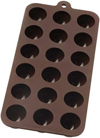 Mrs. Anderson's Baking Chocolate Mold, European-Grade Silicone, Truffle