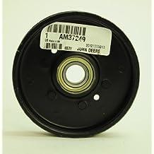 """JOHN DEERE Genuine OEM Flat 4.5"""" Idler Pulley AM37249 48"""" 54"""" 38"""" mower decks"""