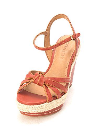 Womens Dalton Ginger Casual Coach Toe Platform Open Sandals pOddqw