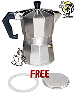 Coffee Maker Cafetera Espresso Latte Coffeemaker Expresso Mini 1 Cup Brewer Pot