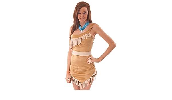 Pocahontas Disfraz Pocahontas India Costume Halloween Carnaval ...