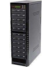 Bestduplicator BD-LG-10T 10 Target 24x SATA DVD Duplicator with Built-in LG Burner (1 to 10)