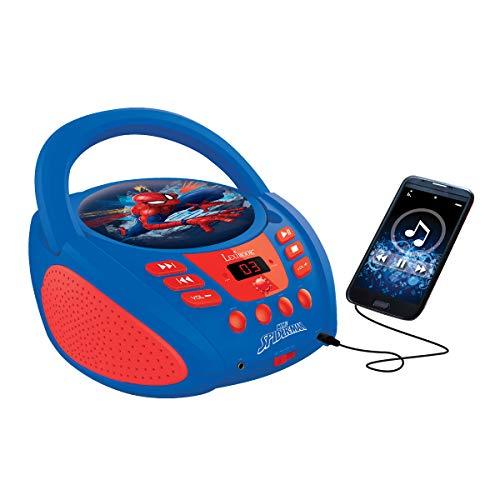 LEXiBOOK Spider-Man Boombox Radio CD Player by LEXiBOOK (Image #4)