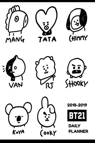 2018-2019 BTS Daily Planner