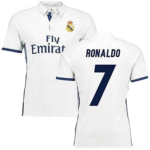 ada14f51d hot sale 2017 JerzeHero Real Madrid Ronaldo  7 Youth Kids Soccer Jersey 3  IN 1