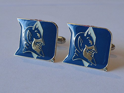 Duke University Cufflinks--Authorized Cuff Links