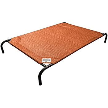 The Original Elevated Pet Bed By Coolaroo - Large Terracotta