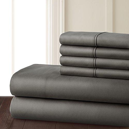 6 Piece Hotel Luxury gentle 1800 published Pillowcase Sets