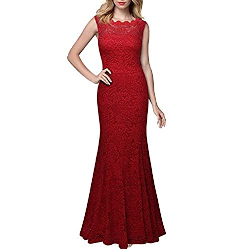 Red Lace Dresses: Amazon.com