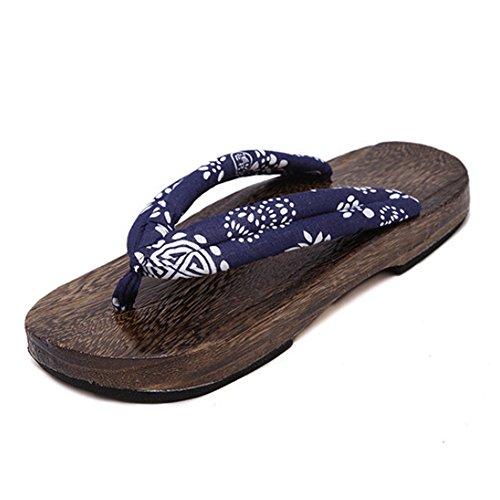 Highdas Flip-Frauen Männer Holzschuh Flops Schuhe H2