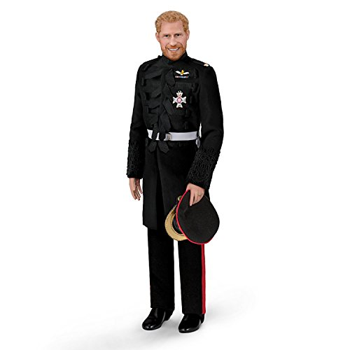 - The Ashton-Drake Galleries Prince Harry Porcelain Groom Collector Doll in Military Uniform