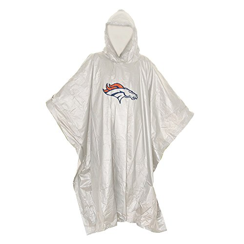 The Northwest Company NFL Lightweight Clear Poncho