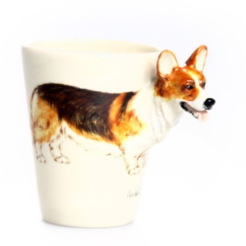 Welsh Corgi 3D Ceramic Mug - Tricolor ()