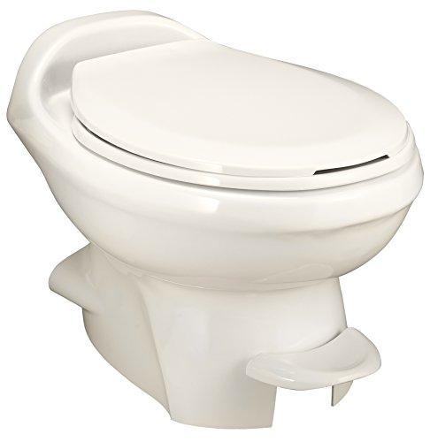 Aqua Magic Style Plus RV Toilet  / Low Profile / Bone - Thetford 34438