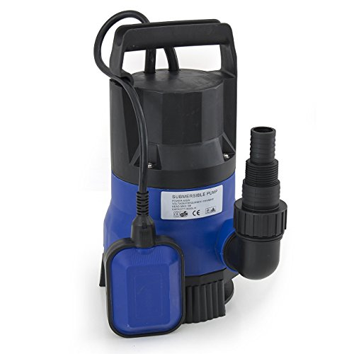 - ARKSEN Submersible Clean Dirty Water Swimming Pool Pump Drain Ponds Aquarium Shallow 1/2HP, 2000GPH, CE Listed