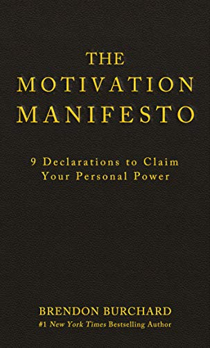 The Motivation Manifesto Brendon Burchard Pdf