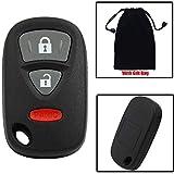 Suzuki XL-7 Alarm Systems - Dewangli 3 Button Keyless Entry Remote Key Case for Suzuki XL-7 SX-4 SX4 Grand Vitara Replacement Car Key Fob Shell