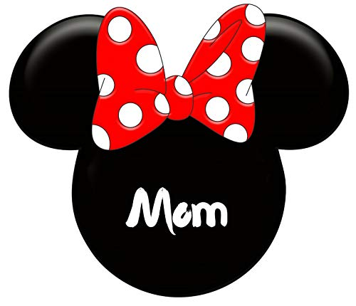 (Minnie Mouse Mom Iron On Transfer for T-Shirts & Other Light Color Fabrics #2)