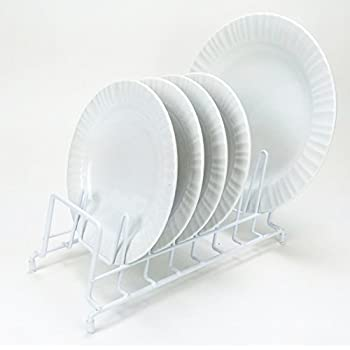HUJI Plates Holder Potsu0027 Pansu0027 Lid Organizer Rack for Cabinet Pantry or Kitchen & Amazon.com: HUJI Plates Holder Potsu0027 Pansu0027 Lid Organizer Rack for ...