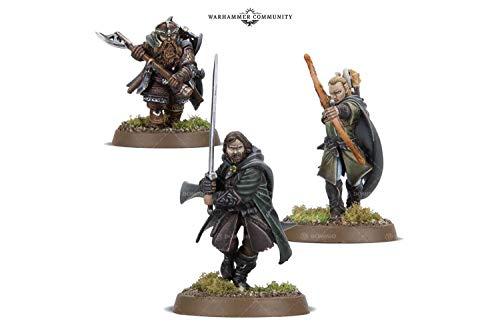 The Three Hunters: Aragorn, Legolas and Gimli ()